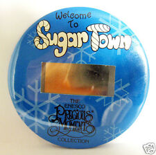 "ENESCO Precious Moments  Pin Back Button ""Welcome to Sugar Town"" 1993"