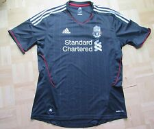 The Reds FC LIVERPOOL Away jersey by ADIDAS 2011-2012 Grey// men/ L