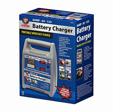 8 Amp Battery Charger 12v Compact Portable Car Motorbike Vehicle Van Fast Slow