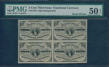 Fr1226 3¢ 3Rd Issue Fractional Currency Pmg 50 Epq - Unc - Hv6750