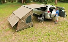 Rhino Roof Rack Awning & Tagalong Tent Camping Combo Oz Trail 32105 RV5T