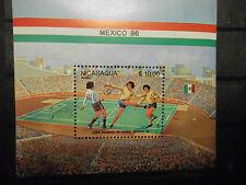 NICARAGUA Bl.162  gestempelt  (Lot 56)