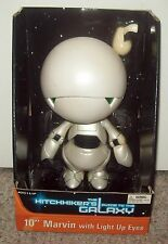 """Marvin 10"""" Figure New 2005 Hitchhiker's Guide to the Galaxy Neca Alan Rickmond"""