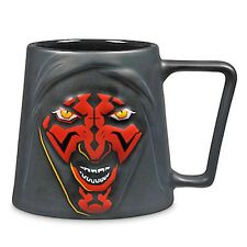 BRAND NEW Disney Star Wars Darth Maul Red Face Coffee Cup Or Tea Mug 20 oz