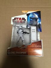 "[581] 2009 STAR WARS ""CLONE TROOPER"" #SL04 SAGA LEGENDS (RED)"