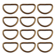 New 25pcs Metal D Ring Buckle fit for Strapping Webbing Purse Leather Bag Crafts
