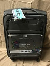 """NEW Samsonite Lift 7.5 lbs 4-Wheel Spinner Expandable Suitcase 21"""" Carry On L2"""