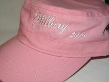 HILLARY CLINTON CAP PRESIDENT 2016 CANDIDATE PINK NEW FIDEL STYLE BASEBALL HAT