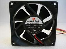 Mitachi B802512BM 12v DC Brushless Fan, 90 DAYS RTB WARRANTY