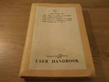 Commer 3-Ton Lorry User Handbook 1953  Truck Cargo Tipping Command Body Shelter