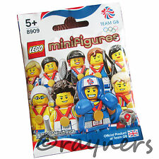 (Factory Sealed) Brawny Boxer 8909 LEGO Team GB Olympic Minifigure London 2012