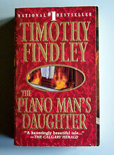 The Piano Man's Daughter by Timothy Findley (1996, Paperback) Harper Collins 1st