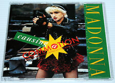 MADONNA - CAUSING A COMMOTION - 4 TRACK GERMAN YELLOW CD SINGLE - SIRE 1995