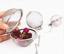 HO CA Stainless Steel Infuser Strainer Mesh Tea Filter Spoon Locking Spice Ball
