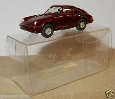 MICRO WIKING HO 1/87 PORSCHE 911 CARRERA 4 MARRON FONCE IN BOX