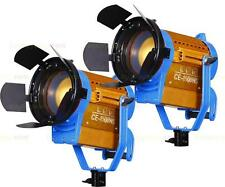 Nicefoto 2 x CE-1500WS LED Studio Fresnel Light Photo Video