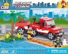 Cobi Toys - Fire Rescue Team - Construction Bricks - Building Blocks Set 200PC