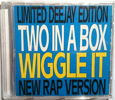"Two in a Box"": wiggle IT (2 in a room Cover version"") 3 track MAXI-CD 1991"