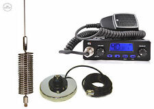 CB STARTER KIT TTI CB RADIO + CB ANTENNA MINI SPRINGER CHROME + MAGNEZ TCB-550