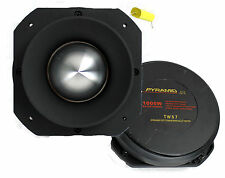 "2) Pyramid PRO TW57 3"" 2000W Dome Bullet Car Super Titanium Audio Tweeters"