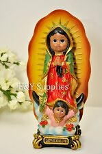 Baby Face Virgen de Guadalupe Our Lady of Guadalupe Statue Figurine Virgin Mary