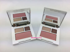 Lot of 2: Clinique Colour Surge Eye Shadow Duo Like Mink / Blush: Cupid