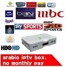 Best Arabic, Turkish, and English Android IPTV Box for TV Channels Quad Core