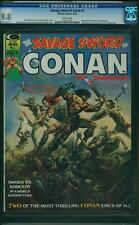 SAVAGE SWORD OF CONAN #  1  MARVEL 1974 BORIS COVER CGC 9.8 MINT HIGHEST! Graded