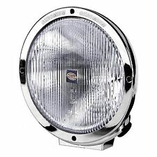 Luminator Chrome Spotlight c/w Side Light, H1, Blue Lens | HELLA 1F8 007 560-131