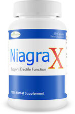 NIAGRAX Best Male Sexual Enhancement Performance Pill Hard Long Erection Orgasm