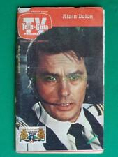 1980 ALAIN DELON PHOTO COVER MEXICAN TV GUIDE LAKE PLACID WINTER OLYMPIC GAMES
