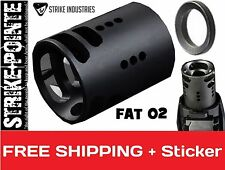 Strike Industries FAT Comp 02 Compensator for 22cal/556 with 1/2x28 TPI Big Comp