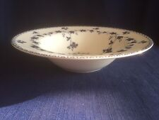 "Royal Doulton Yorktown (smooth)  8 1/8"" rimmed soup bowl- minor glaze scratches"