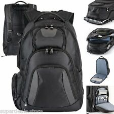 "Basecamp Concourse 17"" Laptop Computer TSA Friendly Backpack - Black Color"