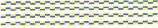4 x POLICE waterslide DECAL BATTENBERG STRIPES FOR CODE 3 POLICE 2mm high