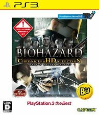 New PS3 Biohazard Resident Evil Chronicles HD Selection Best Japan Import