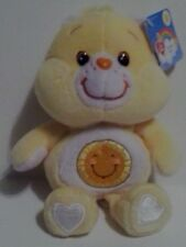"2002 8"" FUNSHINE CARE BEAR CARLTON PLAY ALONG 20th ANNIVERSARY NWT MINT EASTER"