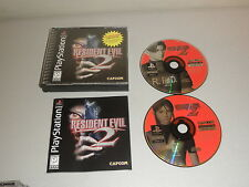 Resident Evil 2: Dual Shock (Sony PlayStation 1, 1998) Complete 2 Discs