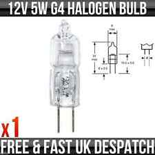 12v 5w G4 Halogen Accessory Bulb, Caravan Light, Interior Motorhome Light - R569