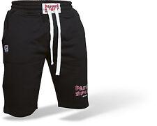 Paffen Sport- LOGO Athletic Short schwarz/grau. S-XXL. Baumwolle/Polyester.Boxen