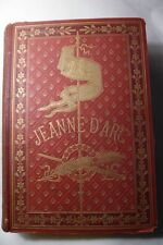 JEANNE D'ARC BY HENRI WALLON 1883 EDITION 14 CHROMOLITHOGRAPHES