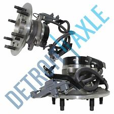 Pair (2) NEW Front Wheel Hub and Bearing Assembly w/ ABS COLORADO CANYON Z85 2WD