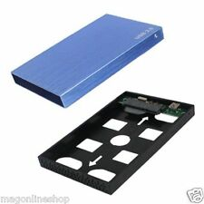 NEW  Premium BLUE  EXTERNAL 2.5 INCH USB TO SATA HDD HARD DISK DRIVE CASE CASING