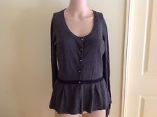Size 10 Basque Cardigan Preowned In Great Care