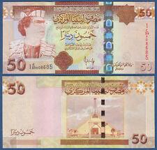 LIBYEN / LIBYA 50 Dinars (2008)  UNC  P.75