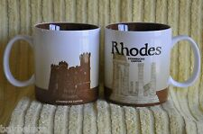 NEW! Starbucks Coffee Global City Mug RHODES rhodos island, with tag! :)