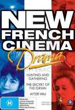 New French Cinema: Drama (Hunting Gathering, Secret of grain, After him) DVD NEW