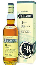 Cragganmore 12 Jahre, Speyside, Single Malt Whisky,  0,2 l.,
