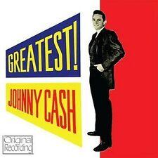 CD JOHNNY CASH GREATEST GOODBYE LITTLE DARLIN' YOU TELL ME GET RHYTHM KATY TOO