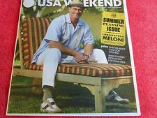 USA WEEKEND MARCH 2014 CHRISTOPHER MELONI ON FAMILY TIME SUMMER PLANNING